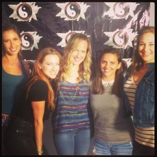 Natalie, AR, Roxy, and Katie