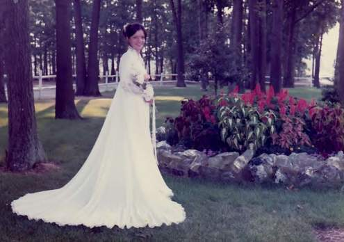 Mom wedding dress